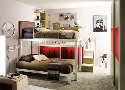 beds for teenagers teen bedroom with bunk beds stylehomes net