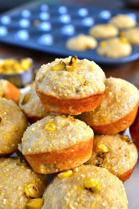 corn mini muffins roasted cornbread mini muffins bits of