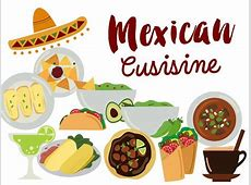 Mexico Clip Art mexican food clipart mexican cuisine Tacos Nacho Party Clipart