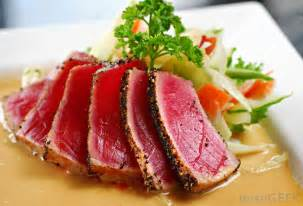 what is tuna carpaccio with pictures
