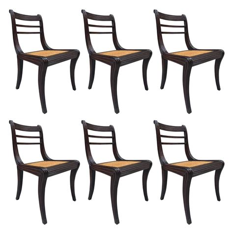 Duncan Phyfe Dining Chairs For Sale Duncan Phyfe Carved Mahogany Style Dining Chairs For Sale At 1stdibs