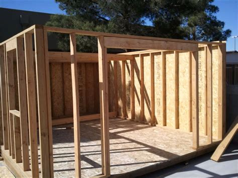 How To Build A Shed House by 12x16 Shed Build