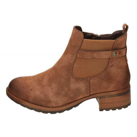 reiker boots rieker 96864 24 brown low heel chelsea ankle boots