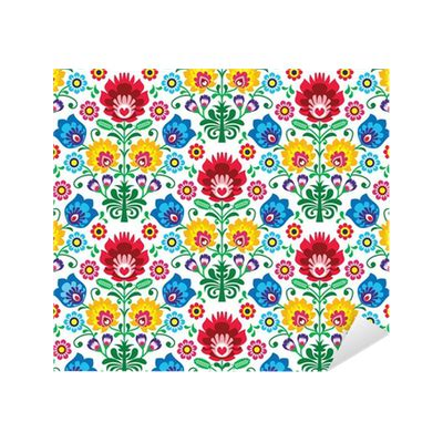 ethnic pattern png seamless floral polish pattern ethnic background sticker
