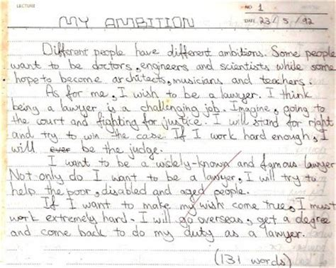 My Ambition Essay by Essay On My Ambition In For Cl