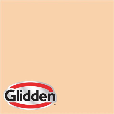 glidden premium 8 oz hdgo29 orange blossom satin interior paint sle hdgo29 08sa the home