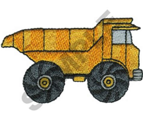 Dump Truck Embroidery Design Hqembroidery by Trucks Great Notions Embroidery Design Dump Truck From