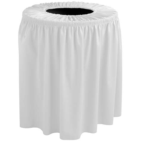 snape drape snap drape tccwyn35white wyndham 35 gallon white shirred