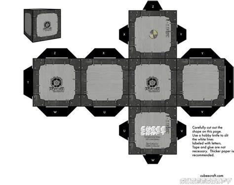 Papercraft Companion Cube - 184 best images about paper craft on