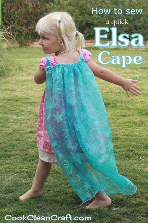 simple pattern for a cape how to sew an elsa cape