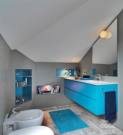 casa bagno trilocale di 96 mq recupero creativo per la mansarda