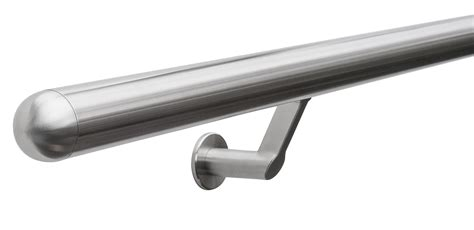 stainless steel banister brushed stainless steel contemporary stair handrail