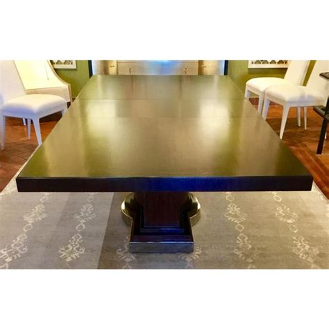 hickory white gramercy dining table chairish