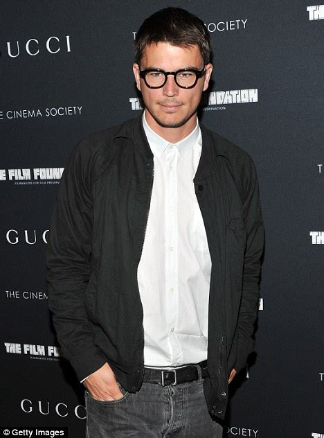 actor with thick rimmed glasses smouldering helena christensen 42 is living the good