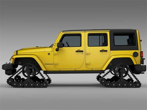 Jeep Wrangler Unlimited X1 Crawler 2016 3d Model