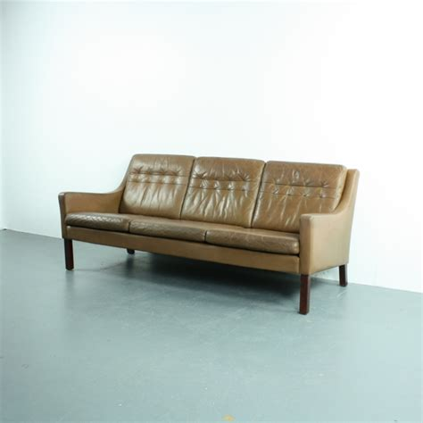 Leather Sofa Co Vintage Thams 3 Seater Brown Leather Sofa Lovely And Company