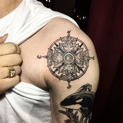 compass tattoo designs with meaning nautical compass