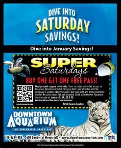 Aquarium Coupon Houston Aquarium Saturdays Houston On The Cheap