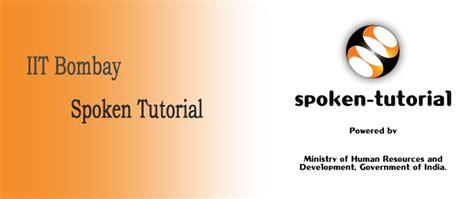 spoken tutorial online test iit bombay top management college of agra up uttar pradesh india
