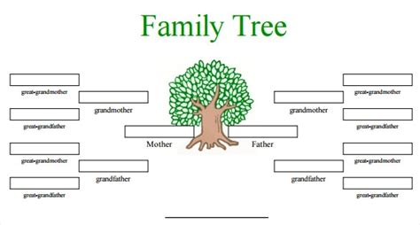 family tree template docs family tree template word peerpex