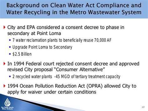 clean water act section 301 carlsbad desalination project report o october 2012 public
