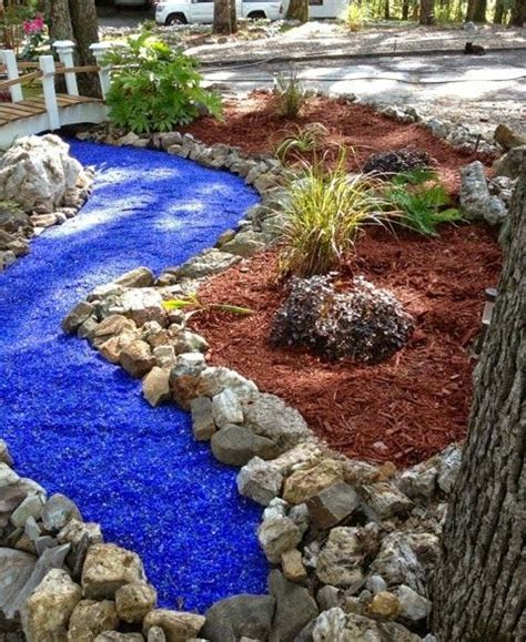 Colored Rocks For Garden 43 Best Images About Recycled Glass On Pinterest Gardens