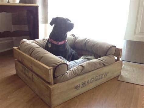 diy comfy crate dog bed  write