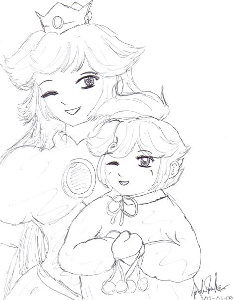 the gallery for gt baby peach coloring pages