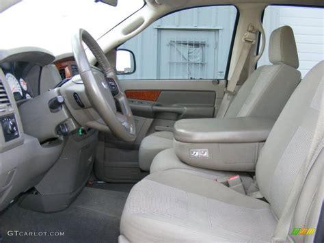 2006 Dodge Ram 1500 Interior by Khaki Beige Interior 2006 Dodge Ram 1500 Slt Cab 4x4