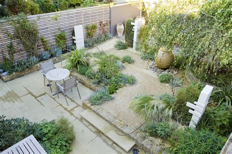 Images About Small Garden Ideas North Facing On Pinterest