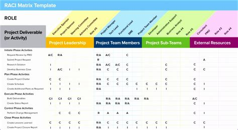 project management roles and responsibilities template 10 roles and responsibilities matrix template excel