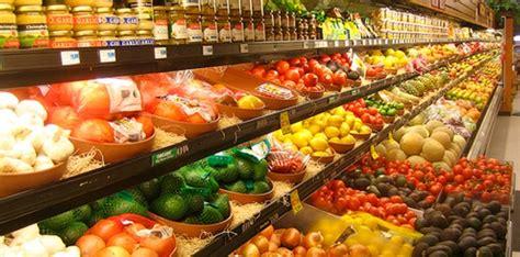 Supermarket Produce Section by Amenities Villa Sixteen