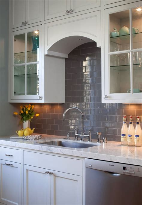 kitchen backsplash yellow backsplash grey glass subway tile house of fifty winter spring 2012 grey subway tiles