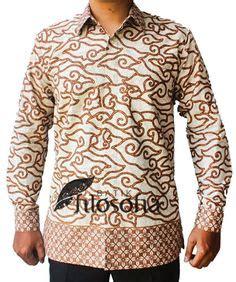 Lebaran Keren Celana Pria Formal Katun Coklat Cln 456 batik kombinasi coklat tua seragam batik kombinasi batik