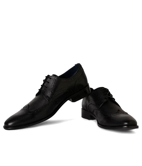 louis philippe black formal shoes price in india buy