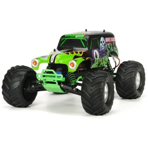 traxxas grave digger rc truck traxxas quot grave digger quot jam 1 10 scale 2wd
