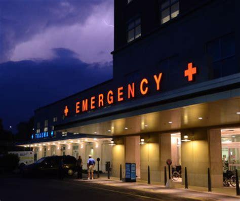 L Emergency emergency hospital signage l h sign company