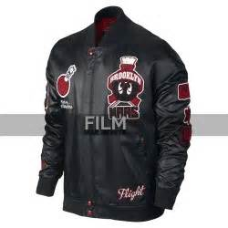 Jaket Bomber Croope Attention fifty shades of grey dornan black leather jacket
