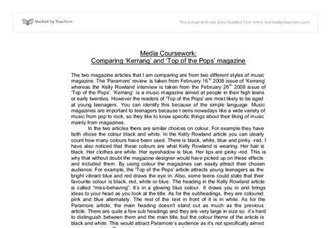 Compare Essay Exle by Compareand Contrast Essay And Exles