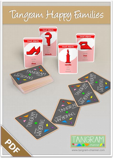 Happy Family Cards Templates by Tangram Happy Families Templates Providing Teachers And