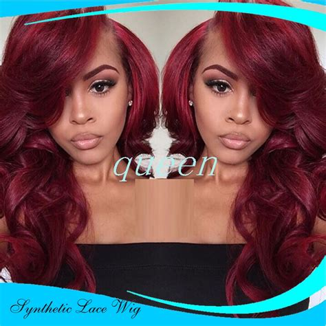 hairstyles for long hair wigs synthetic lace front long red wig layered hairstyle root