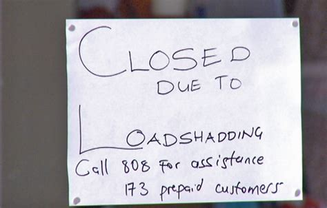 load shedding necessary to avoid a national blackout enca