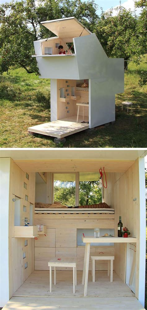 Small Homes Germany Spirit Shelter In Germany Bored Panda
