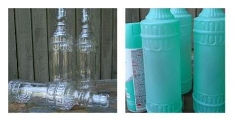 sea glass spray paint pleasure in simple things