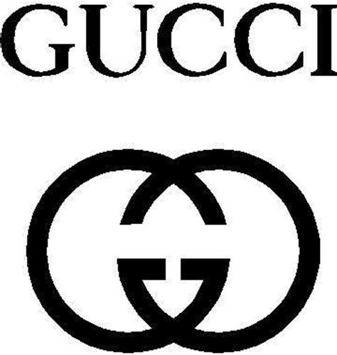 Full Size Wall Stickers corporate logo decals gucci decal sticker 01