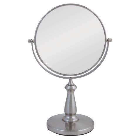 zadro 9 5 in x 15 5 in telescoping vanity mirror in zadro 13 5 in l x 9 in w dual sided swivel vanity mirror