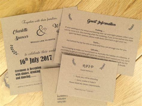 wedding invitation information uk vintage wedding invitations