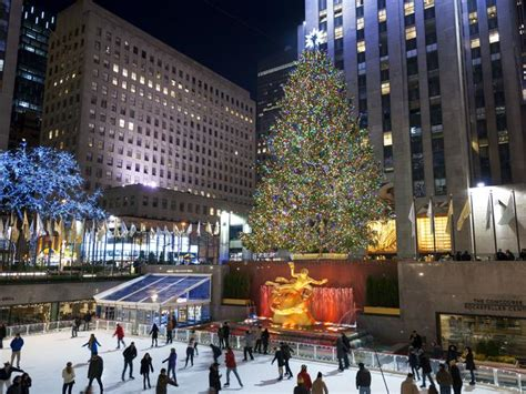when do they take down the rockerfella christmas trees at rock center front center at rockefeller center