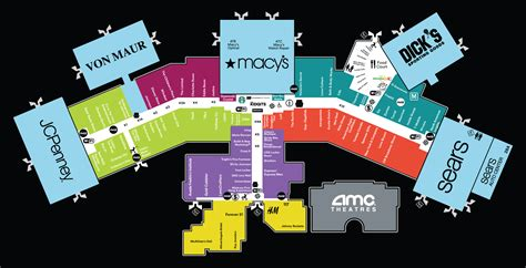 layout of square one mall fashion square mall map pictures to pin on pinterest