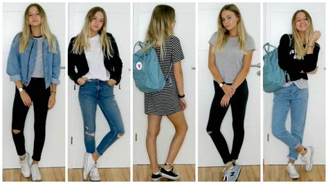 school outfit ideas xapiaxa youtube